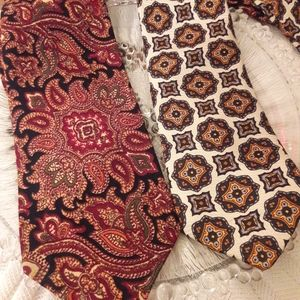 "TWO VINTAGE ""MUSE'S"" TIES!"